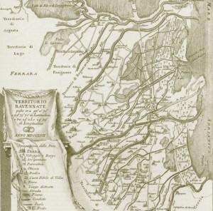 Mappa Lamone 1700